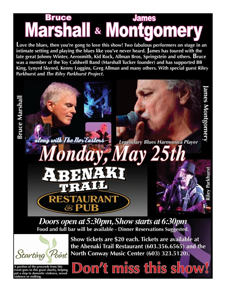 Starting Point Benefit at Abenaki Trail Restaurant & Pub